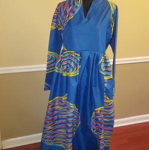 Dresses & Skirts - Ankara Print Maxi Dress